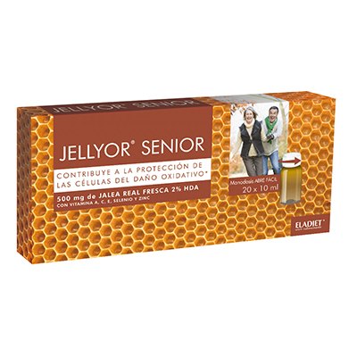 Jellyor Senior Vial 10Ml V11 - Eladiet - 20 viales