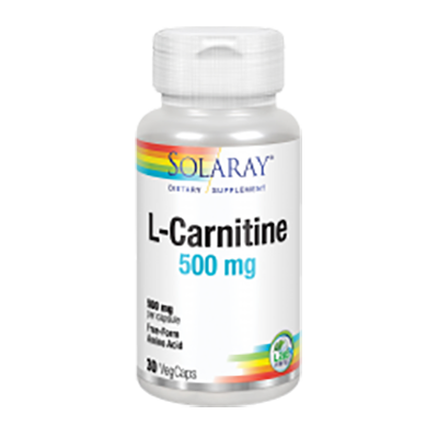 L-Carnitine 500 mg. - Solaray - 30 cápsulas