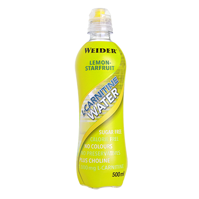 L-Carnitine Water Limón - Weider - 12 x 500 ml.