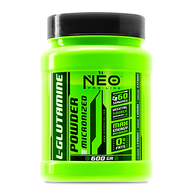 L-Glutamine Powder Limon - NEO Proline - 600 gramos