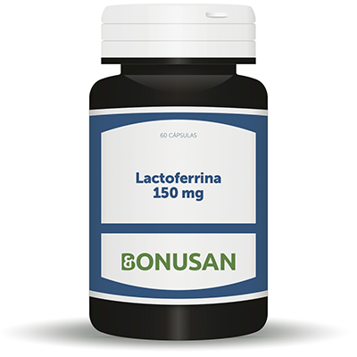 Lactoferrina 150 mg. - Bonusan - 60 cápsulas