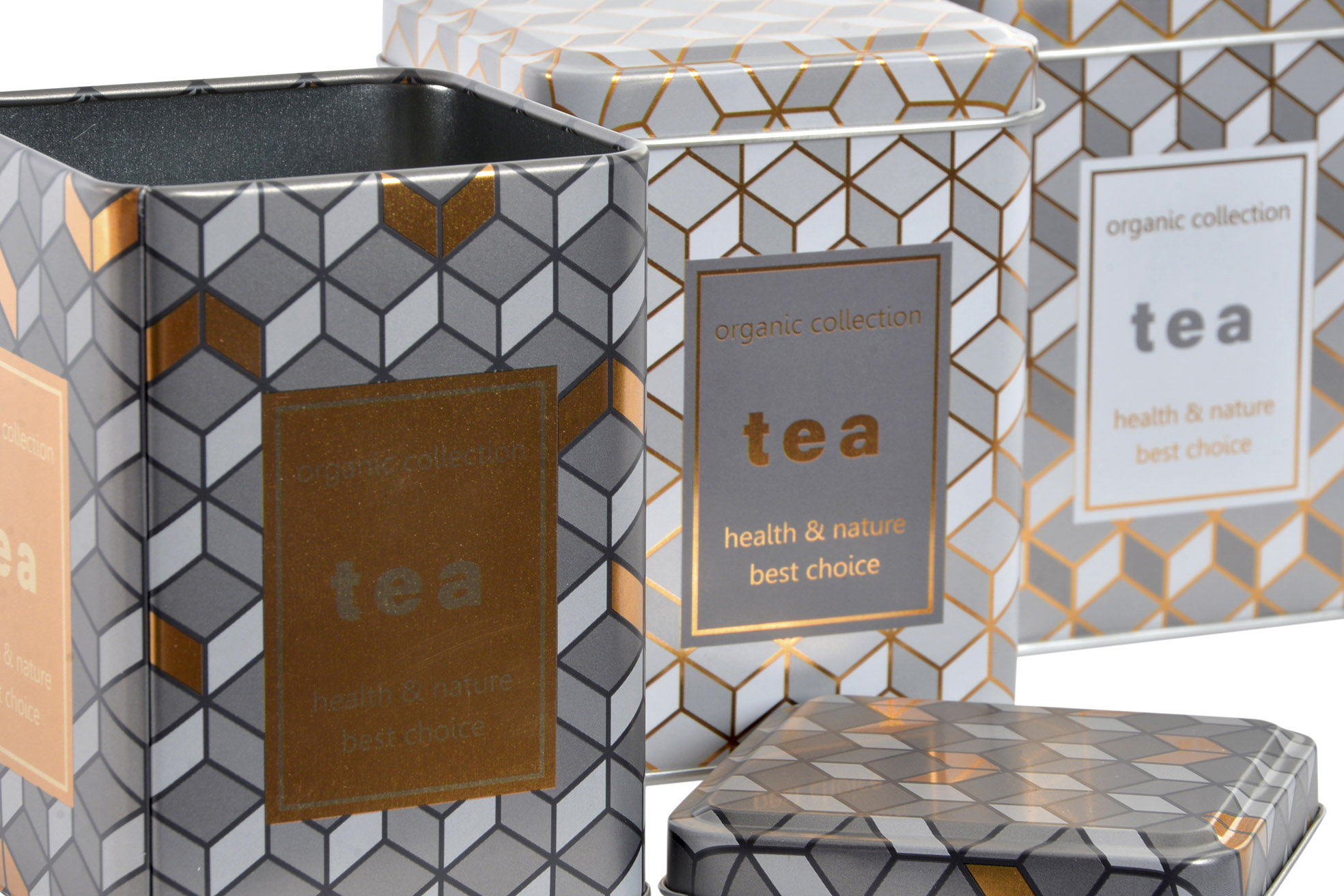 Lata Organic Collection - Tea Shop Geoherbal - 7,5 x 7,5 x 10