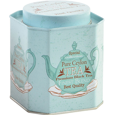 Lata Special Collection Turquesa - Tea Shop Geoherbal - 10x10x10