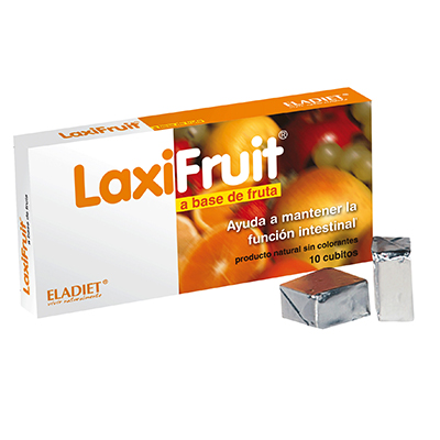 Laxifruit - Eladiet - 10 cubos masticables