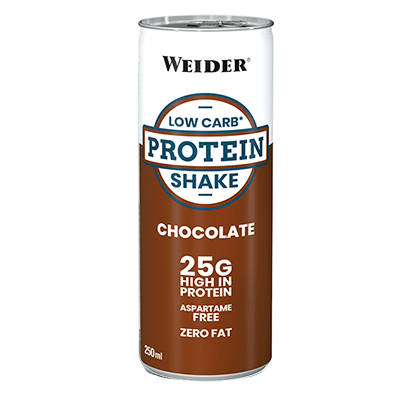 Low Carb Protein Shake Chocolate - Weider - 24 x 250 ml.