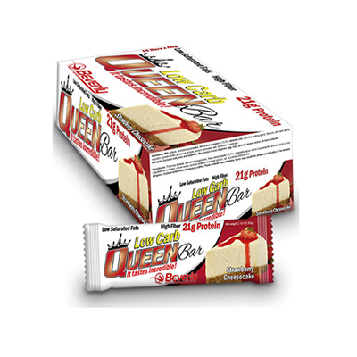 Low Carb Queen Bar - 60 gr. Double Chocolate (19,7gr. prot. / bar) - Beverly - 15 barritas