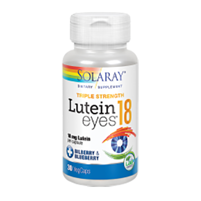 Lutein Eyes 18 mg. - Solaray - 30 cápsulas vegetales