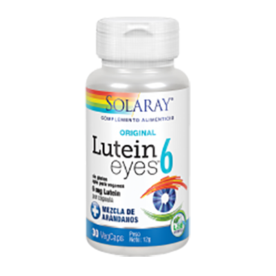 Lutein Eyes 6 mg. - Solaray - 30 cápsulas vegetales