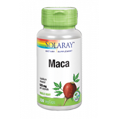 Maca 525 mg. - Solaray - 100 cápsulas