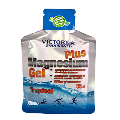 Magnesium Gel Plus Tropical - Victory Endurance - 12 x 35 ml.