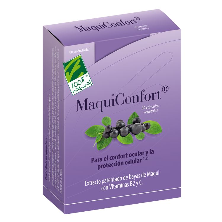 Maquiconfort - 100% Natural - 30 cápsulas
