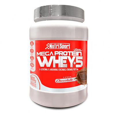 Megaprotein 5 Whey Chocolate - NutriSport - 900 gramos