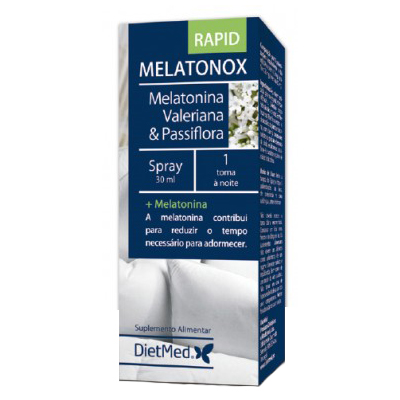 Melatonox Spray Rapid - Dietmed - 30 ml.