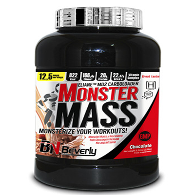 Monster Mass - Chocolate - Beverly - 2,5 kg.
