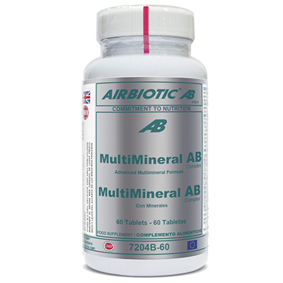 Multimineral Ab Complex - Airbiotic - 60 Tabletas