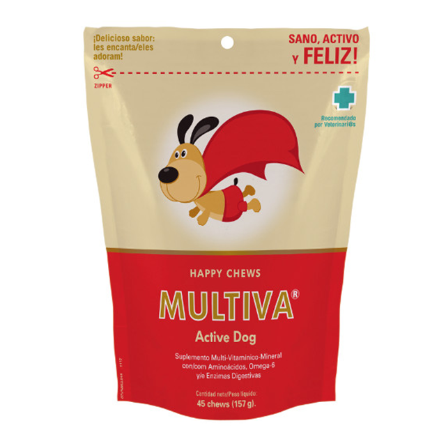 Multiva Active Dog - VetNova - 45 Chews