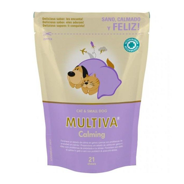 Multiva Calming Cat And Small Dog - VetNova - 21 Chews