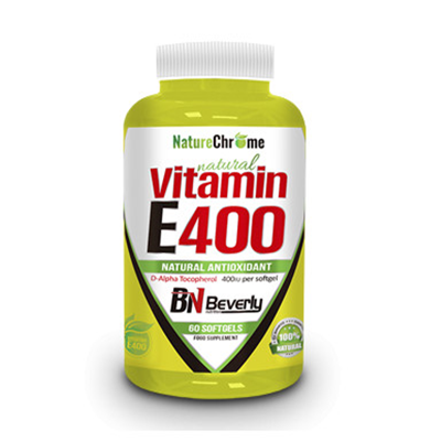 Natural Vitamin E400 - Beverly - 60 perlas