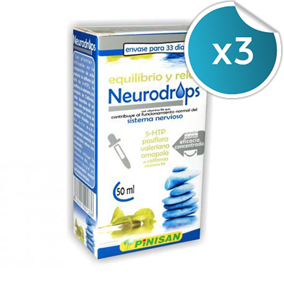Neurodrops - Pinisan - 50 ml. (Pack 3 unidades)