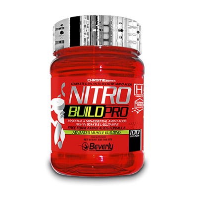 Nitro Build Pro - Beverly - 300 comprimidos
