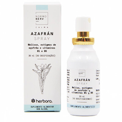 Normonerv - Azafran Spray - Herbora - 30 ml.