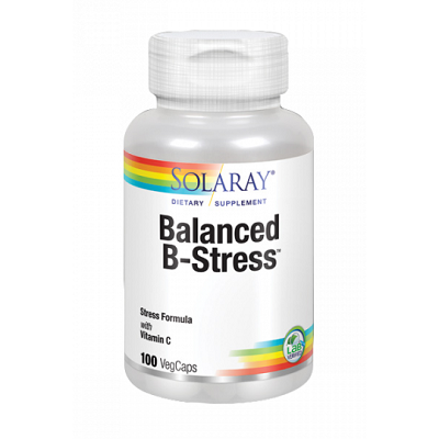 Nutritionally Balanced B  Stress - Solaray - 100 cápsulas vegetales