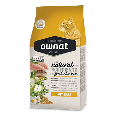 Ownat Gatos Classic Daily Care - Ownat - 4 kg.