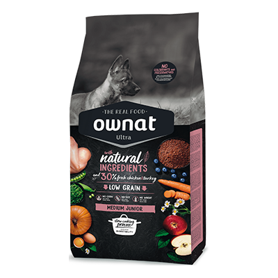 Ownat Perro Ultra Medium Junior - Ownat - 1 kg.