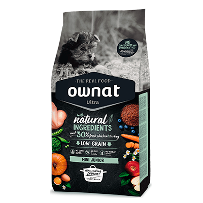 Ownat Perro Ultra Mini Junior - Ownat - 1 kg.