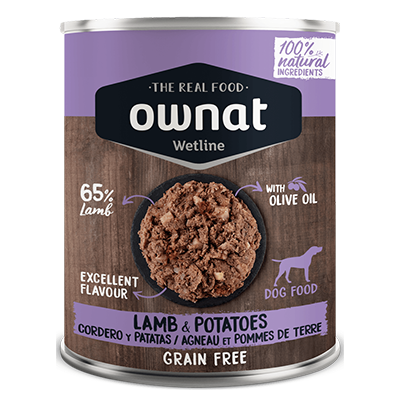 Ownat Perro Wetline Lamb With Potatoes - Ownat - 6 X 400 grs.