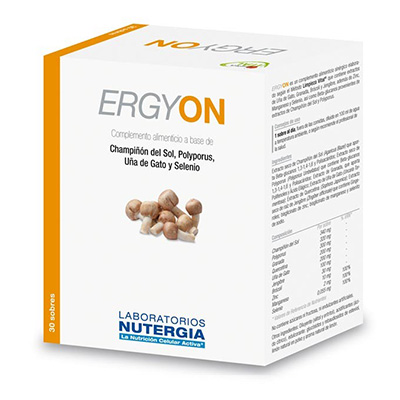Pack 3 Ergy On - Nutergia - 30 sobres