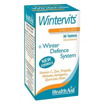 Pack 3 Wintervits - HealthAid - 30 comprimidos