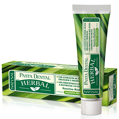 Pasta Dental Herbal Nature - Natysal - 75 ml.