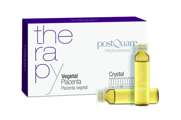 PLACENTA VEGETAL POSTQUAM CRYSTAL 12 X 9 ML.
