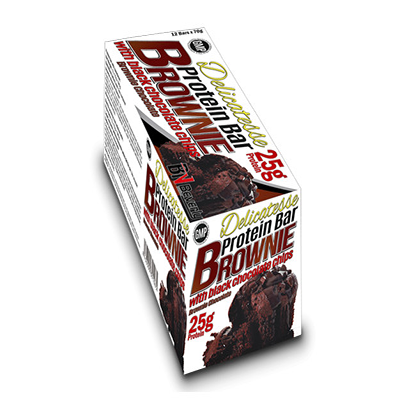Protein Bar - Brownie (70 gr. 25 gr. prot./ bar) - Beverly - 12 barritas