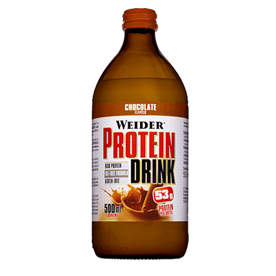 Protein Drink Chocolate - Weider - 12 x 500 ml.