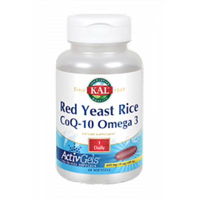 Red Rice Q10 Omega 3 - Kal - 60 perlas
