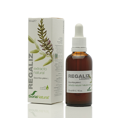 Regaliz Extracto - Soria Natural - 50 ml.
