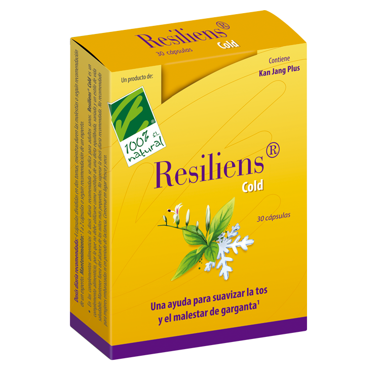 Resiliens Cold - 100% Natural - 30 cápsulas