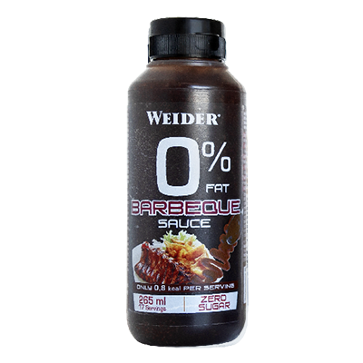 Sauce Zero Barbeque - Weider - 265 ml.