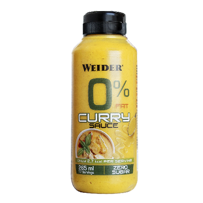 Sauce Zero Curry - Weider - 265 ml.