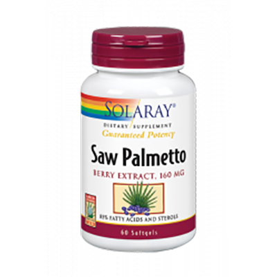 Saw Palmetto - Solaray - 60 perlas