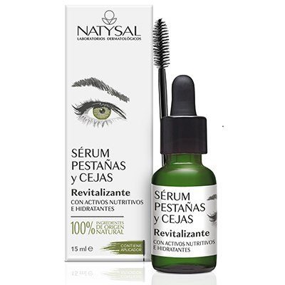 Serum de pestañas y cejas - Natysal - 15 ml.