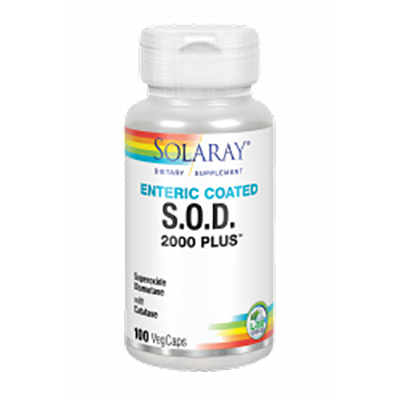 S.O.D 2000 Plus - Solaray - 100 cápsulas vegetales