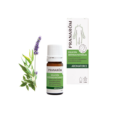 Solución - Defensas naturales - MINI - Pranarom - 5 ml.