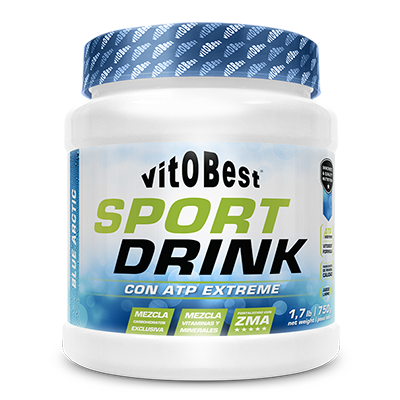 Sport Drink + Atp Extreme Blue Artic - Vitobest - 750 gramos