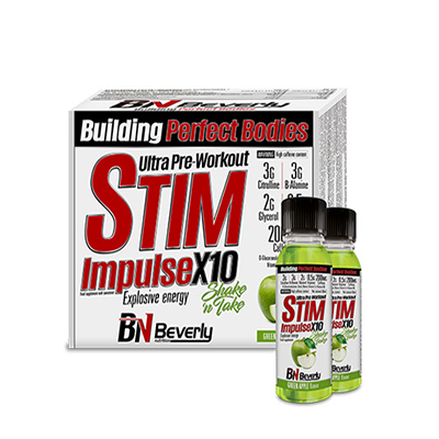Stim Impulse X10 (pre-workout) - Beverly - 20Sh 60 ml.