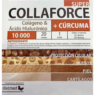 Super Collaforce + Cúrcuma - Dietmed - 20 sobres