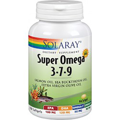 Super Omega 3-7-9 - Solaray - 120 perlas