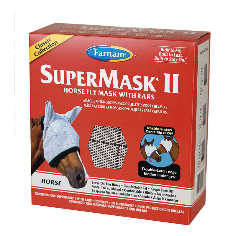 Supermask II With Ears (Con Orejeras) - VetNova - Horse